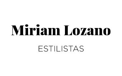 Miriam Lozano estilistas